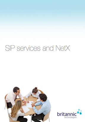 SIP Services and netX Brochure