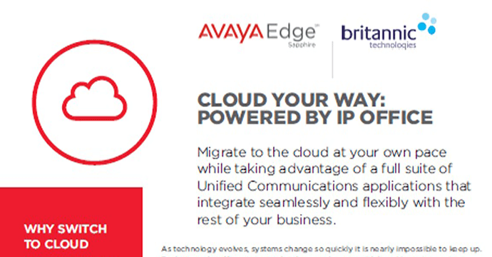 Cloud Your Way: Powered By IP Office Brochure