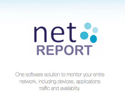 Learn more through the netREPORT Brochure