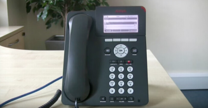 Forwarding calls - Avaya IP Office 96 series telephone
